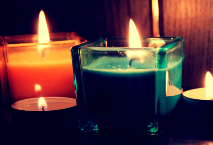 La percepción de las fragancias de las velas